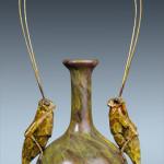 Grasshopper Vase