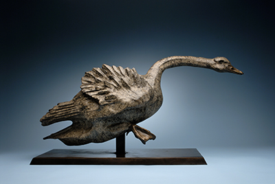 """Trumpeter"" I will donate a portion of the sales my or any of my other sculptures to The Trumpeter Swan Society or a charity of your choice."