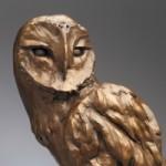 Lechuza, bronze owl