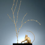 vervet monkey sculpture