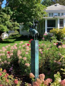 Diana Goddess landscape installation-1