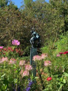 Diana Goddess landscape installation-2