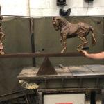 sculpture completion